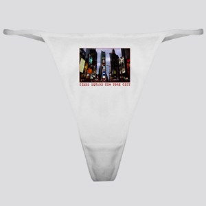 New York Souvenir Times Square Gifts Classic Thong