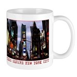 New York Souvenir Times Square Gifts Mugs