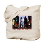 New York Souvenir Times Square Gifts Tote Bag