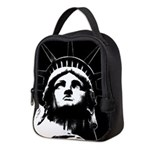 New York Souvenir Lunch Statue Neoprene Lunch Bag