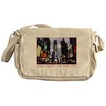 New York Souvenir Times Square Gifts Messenger Bag