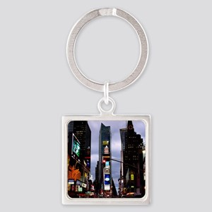 New York Souvenir Times Square Square Keychain
