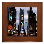 New York Souvenir Times Square Framed Tile