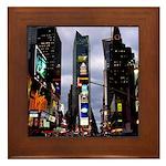 New York Souvenir Times Square Framed Tile