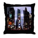New York Souvenir Times Square Throw Pillow