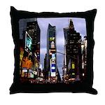 New York Souvenir Times Square Throw Pillow