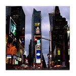 New York Souvenir Times Square Tile Coaster