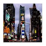New York Souvenir Times Square Tile Coaster