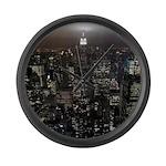 New York Souvenir Empire State Large Wall Clock