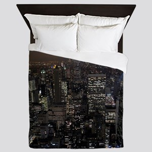 New York Nyc Souvenir Queen Duvet