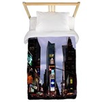 New York Souvenir Times Square Gifts Twin Duvet