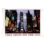 New York Souvenir Times Square Gifts Pillow Case