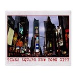 New York Souvenir Times Square Gifts Throw Blanket