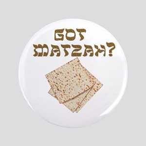 """got-matzah 3.5"""" Button"""