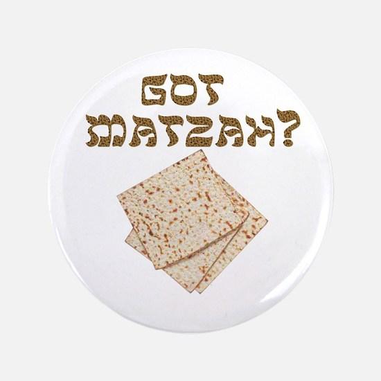 """got-matzah.png 3.5"""" Button"""