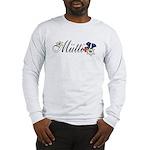 Dear Mutti Long Sleeve Ash Grey T-Shirt