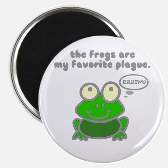 Frog Passover Plague Magnet