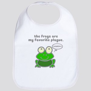 Frog Passover Plague Bib