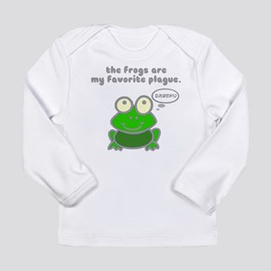 Frog Passover Plague Long Sleeve Infant T-Shirt