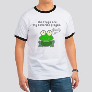 Frog Passover Plague Ringer T