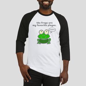 Frog Passover Plague Baseball Jersey