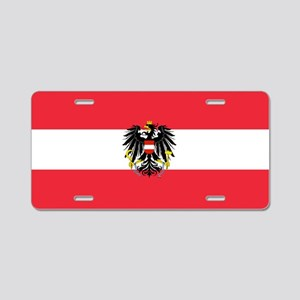 Austrian Coat of Arms Flag Aluminum License Plate