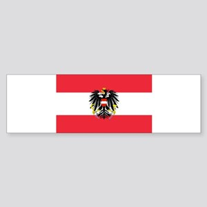 Austrian Coat of Arms Flag Bumper Sticker