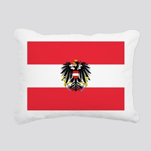 Austrian Coat of Arms Flag Rectangular Canvas Pill