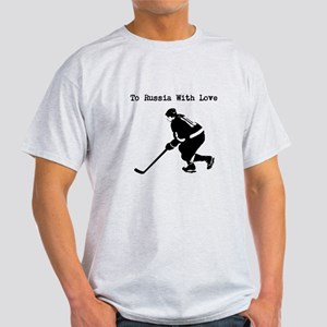 To Russia with love hockey shirt T-Shirt