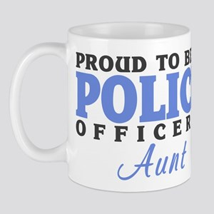 Proud Officer's Aunt Mug