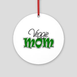 Veggie Mom Ornament (Round)