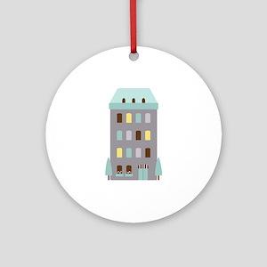 Urban Hotel Ornament (Round)