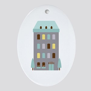 Urban Hotel Ornament (Oval)