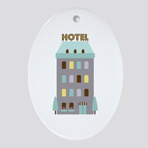 Hotel Ornament (Oval)