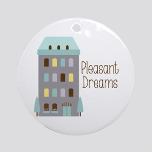 Pleasant Dreams Ornament (Round)