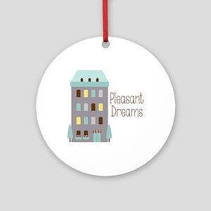 Pleasant Dreams Ornament (Round)
