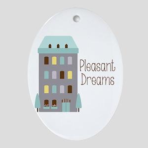 Pleasant Dreams Ornament (Oval)