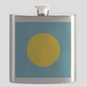 Flag of Palau Flask
