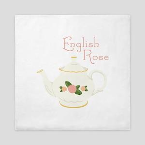 English Rose Queen Duvet