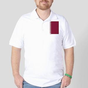 Flag of Qatar Golf Shirt