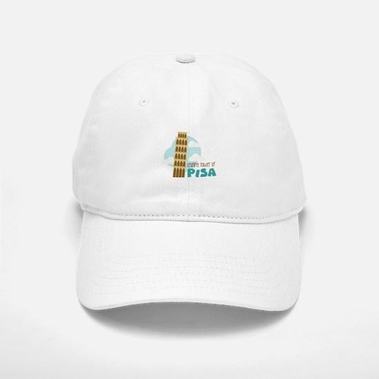 Leaning Tower Of Pisa Baseball Baseball Baseball Cap