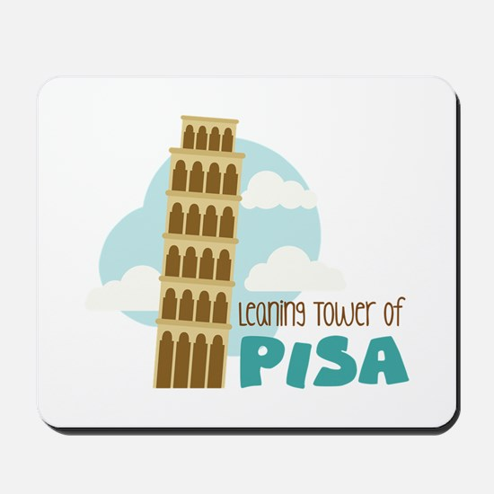 Leaning Tower Of Pisa Mousepad