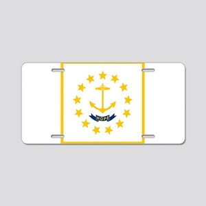 Flag of Rhode Island Aluminum License Plate