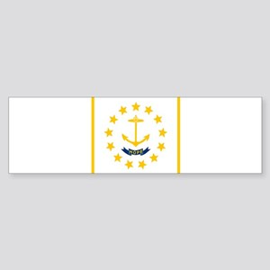 Flag of Rhode Island Bumper Sticker