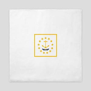 Flag of Rhode Island Queen Duvet