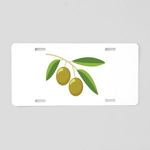 Olive Branch Aluminum License Plate