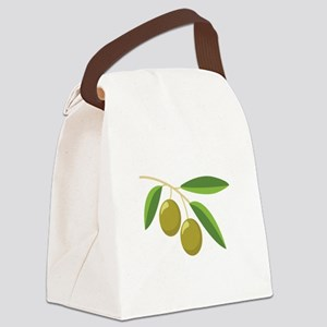 Olive Branch Canvas Lunch Bag