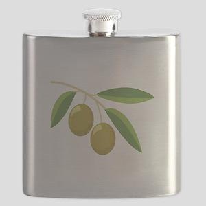 Olive Branch Flask