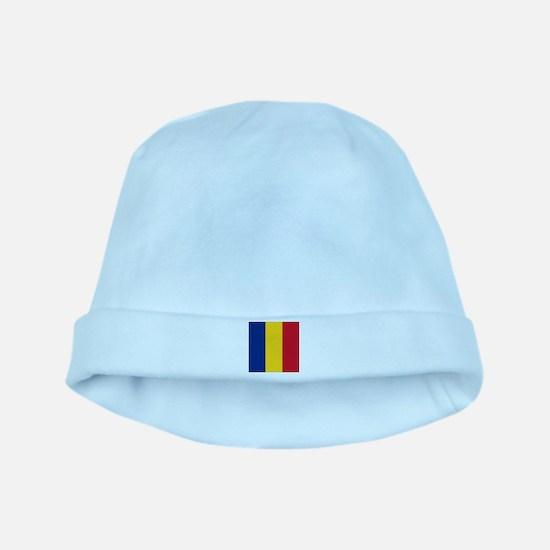 Flag of Romania baby hat