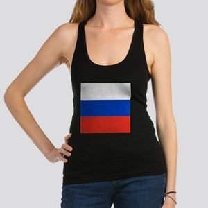 Flag of Russia Racerback Tank Top
